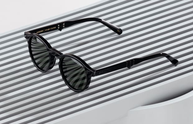 The wings+horns x MOSCOT Sunglasses are Achingly Cool