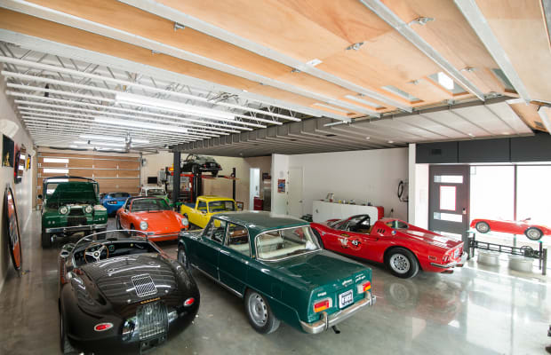 A Car Collector's Dream Home
