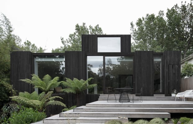 This All-Black Home Is Minimalistic Perfection