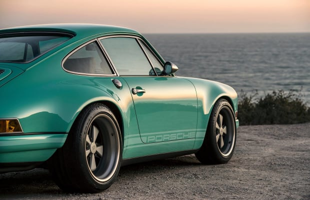 This Mouthwatering Custom Porsche Stuns in Seafoam Green