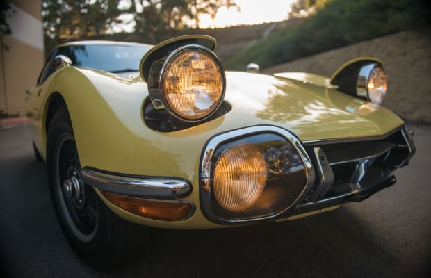 This 1967 Toyota 2000GT Is Beyond Beautiful