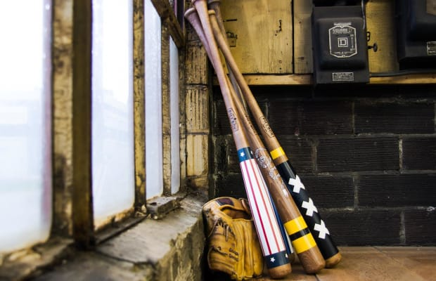 Deal: Get $75 Off These Hand-Painted Baseball Bats