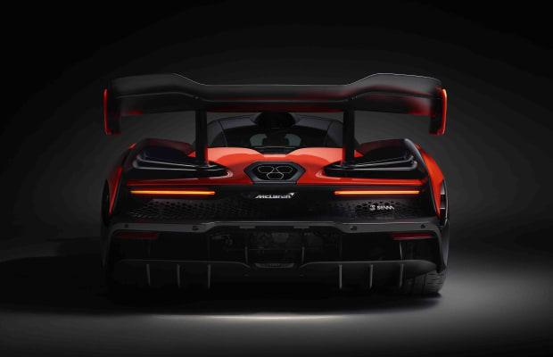 McLaren Pays Homage to Ayrton Senna With New Supercar