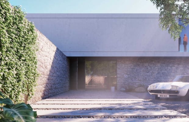The Luxe 'Superhouse' Concept Is the Ultimate Power Pad