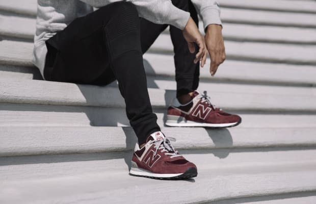 New Balance Updatesthe 574 Sneaker With Subtle Changes