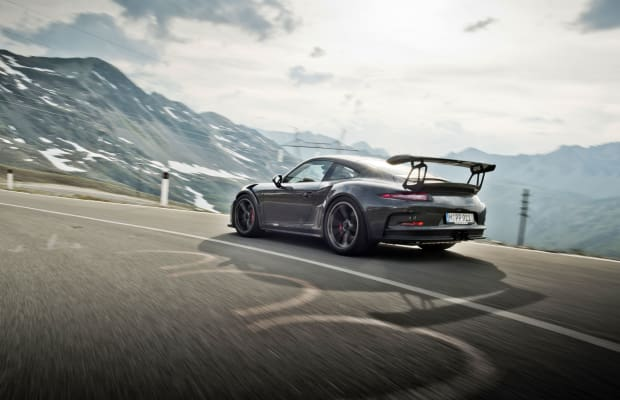 Porsches Curve Through the Alps in This Truly Stunning Coffee Table Book