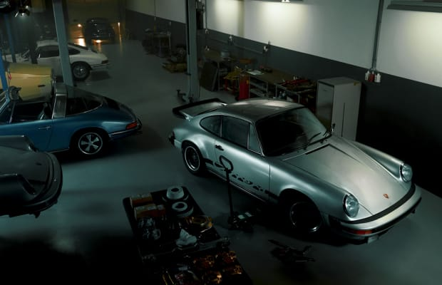Inside the Ultimate Porsche Garage