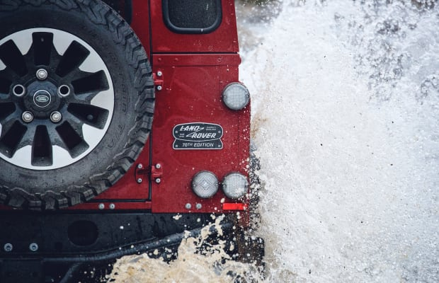Land Rover Reveals Limited Edition Defender to Celebrate 70th Anniversary