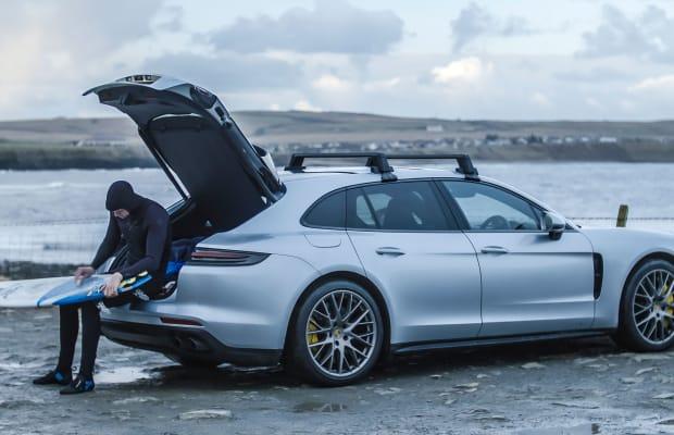 North Sea Surfing With the Porsche Panamera Turbo Sport Turismo