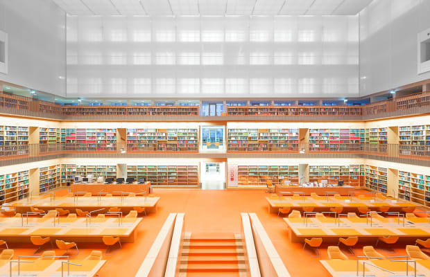 A Stunning Look at Architecturally Blessed German Libraries