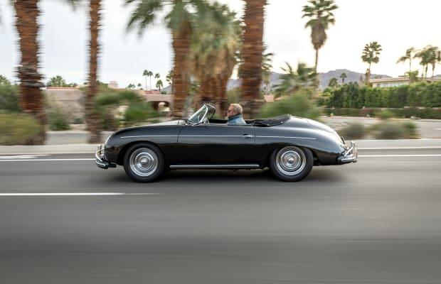 Steve McQueen's 1956 Porsche 356 Speedster
