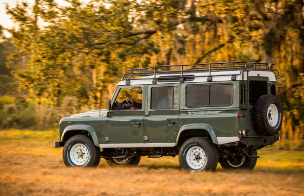 This Custom Land Rover Defender Mixes Heritage Style With Modern Luxury