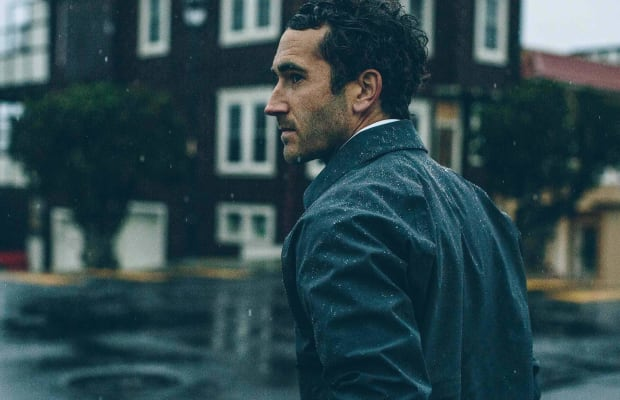 This Convertible Rain Jacket is the Ultimate Item for Touring Gentlemen