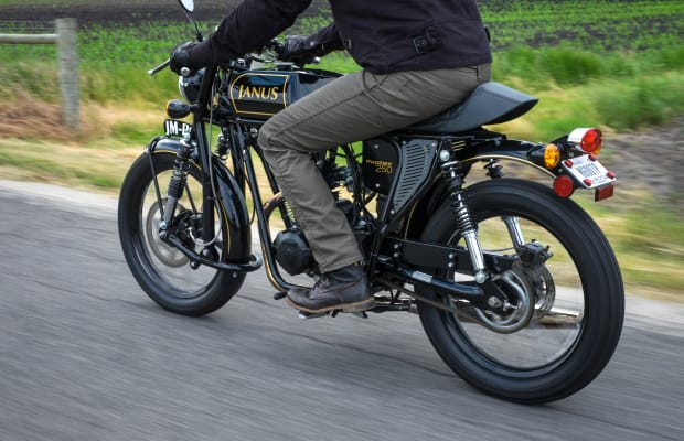 Janus' Vintage-Inspired Motorcycles Have Style for Miles