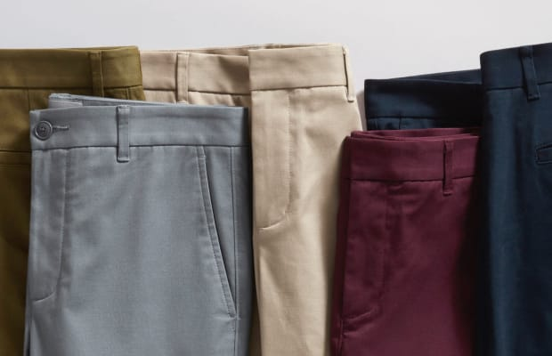 Everlane Introduces Tapered Chinos at UnbeatablePrice Point