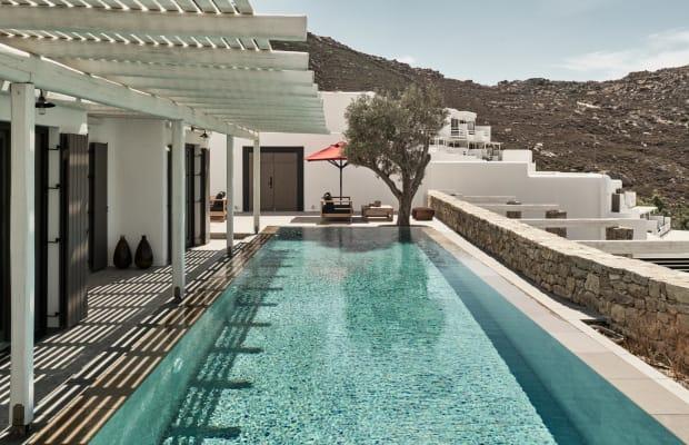 Mykonos' Newest Hotel Is a Greek Getaway Done Right