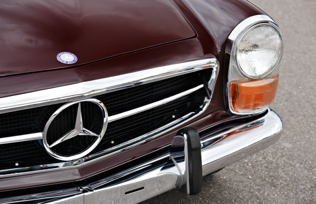 Car Porn: 1971 Mercedes-Benz 280 SL 'Pagoda'