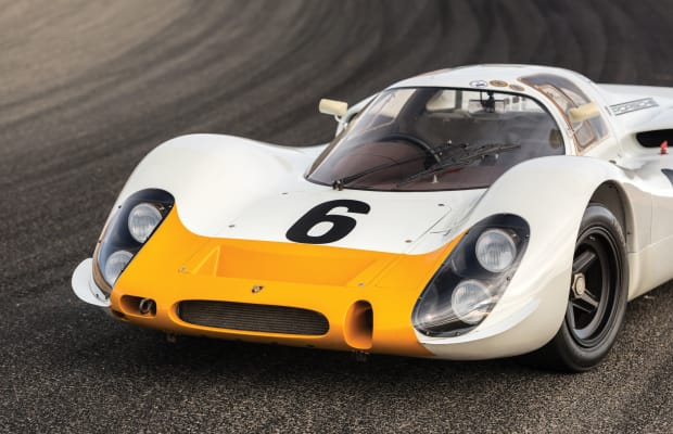 Car Porn: 1968 Porsche 908 Works 'Short-Tail' Coupe