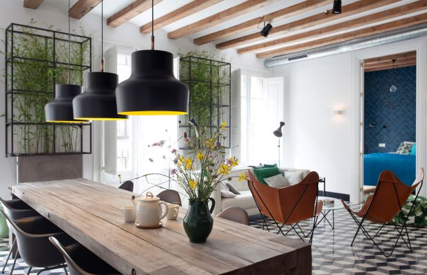 It Doesn't Get Much Cooler Than This Barcelona Apartment