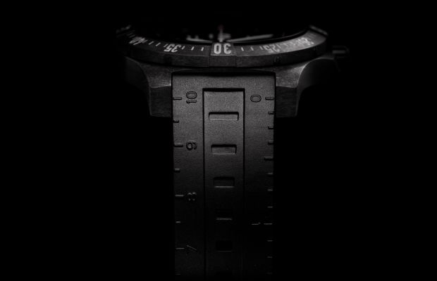 This All-Black-Everything Breitling Is the Watch You'd Want in the Zombie Apocoplyse
