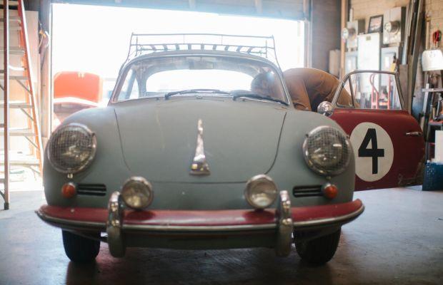 Taylor Stitch's Mechanic Shirt is Perfect for Vintage Porsche Enthusiasts