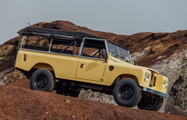 This Classic Land Rover With Matching Camper Is Looking for a New Home