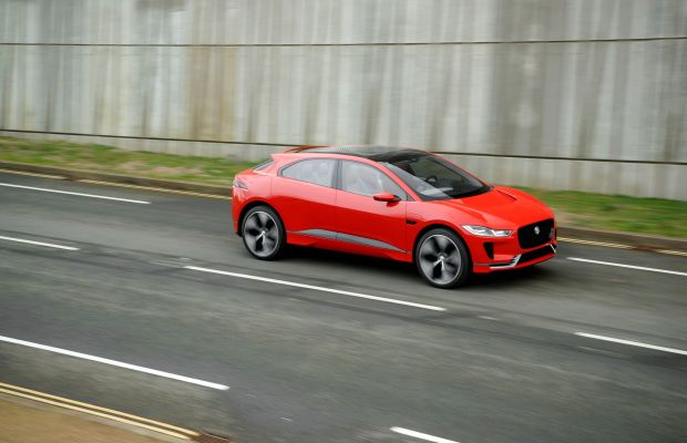 Feast Your Eyes on the All-Electric Jaguar I-PACE