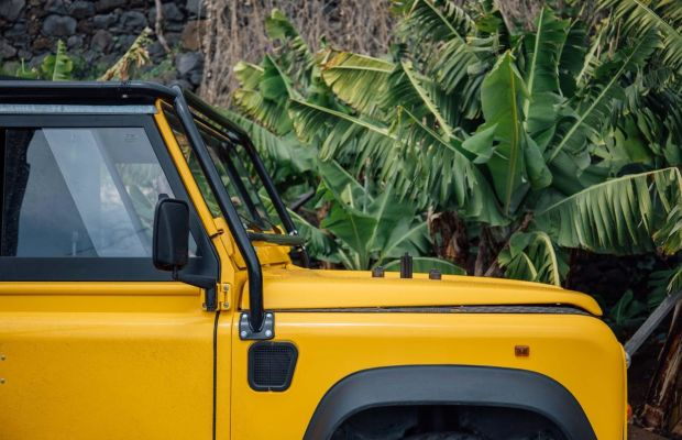 Nothing Goes Together Like a Vintage Land Rover and Swimwear Models
