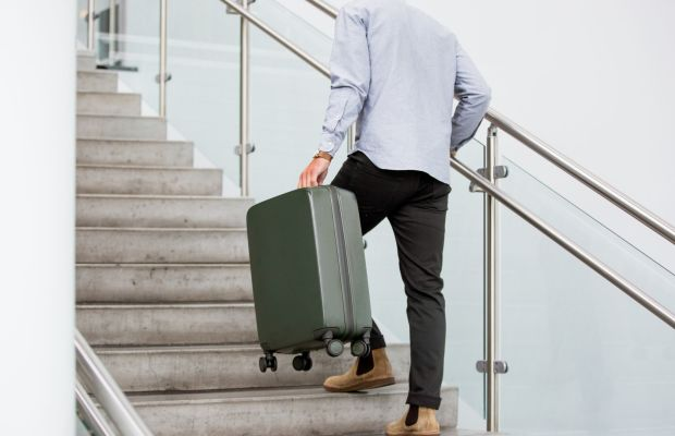 This Teched-Out Luggage Is Straight Out of Tony Stark's Lab