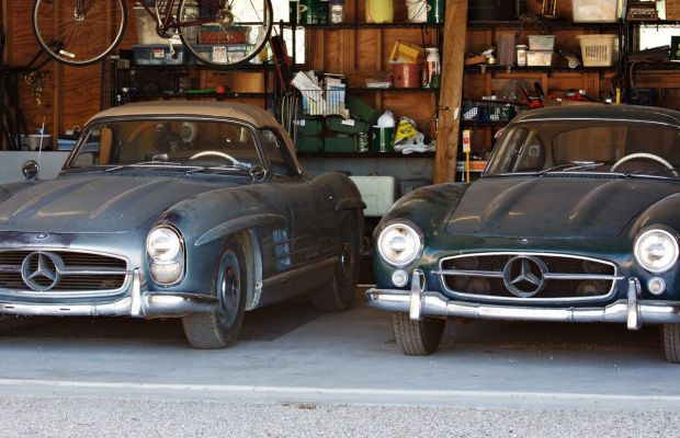 An Unearthed Pair of Mercedes-Benz 300 SLs are About to Hit the Market