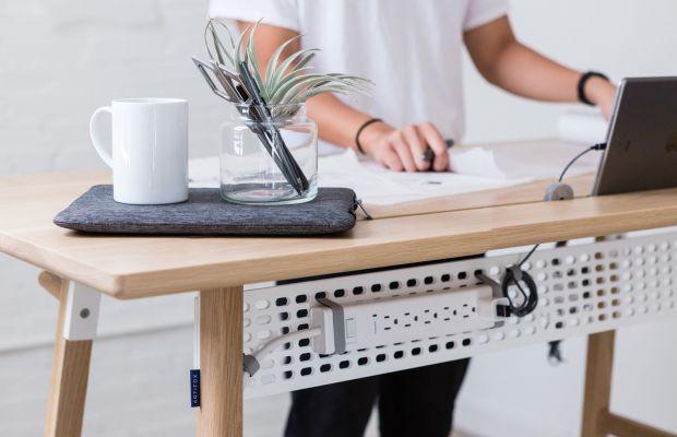 Finally, a Standing Desk That Doesn't Look Like IKEA Designed It