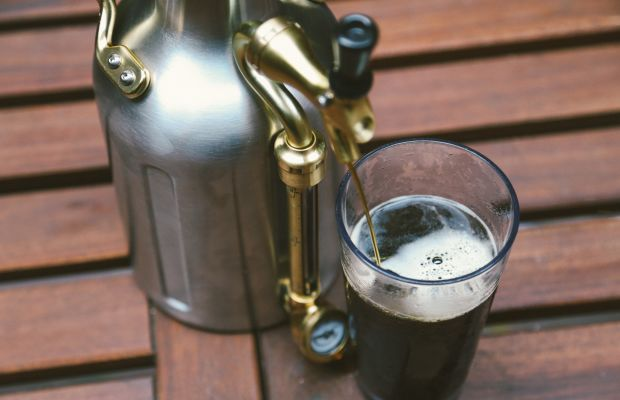 Serve Beer in Style With This Beautifully Designed Mini-Keg
