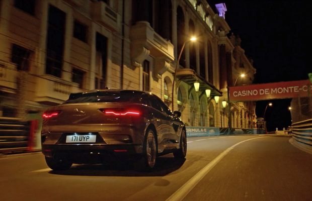 Watch the Jaguar I-PACE Tame Monaco's Twists and Turns