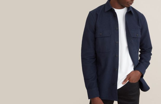 This Heavyweight Overshirt Hits All the Right Notes