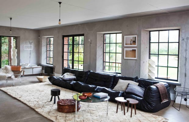 This Is Quite Possibly The Coolest Living Room Ever