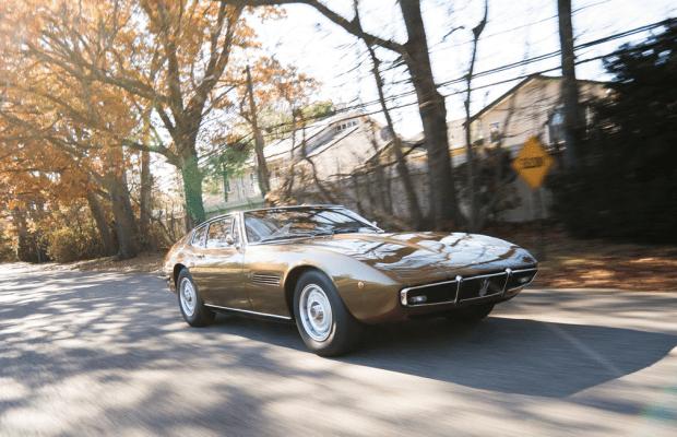 Car Porn: 1970 Maserati Ghibli 4.9 SS Coupe