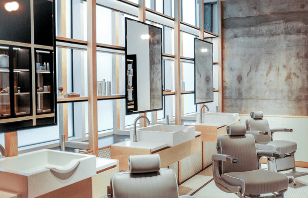 Inside A Perfectly Designed Dubai Barbershop