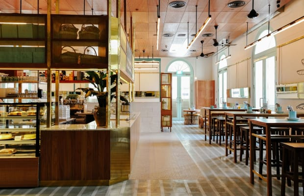 Every Inch of This 24/7 Singapore Restaurant Is Perfectly Designed