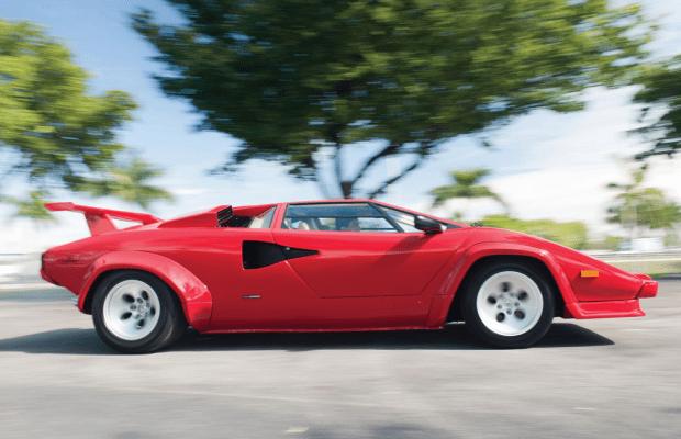 Car Porn: 1986 Lamborghini Countach 5000 Quattrovalvole