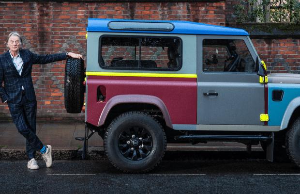 A Closer Look At Sir Paul Smith's Custom Land Rover Defender