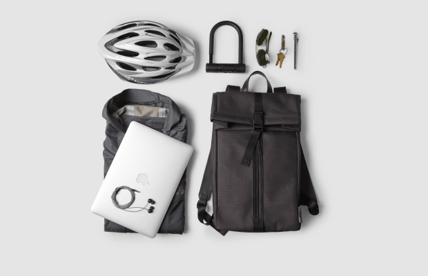 This Minimal Backpack Is A Morning Commute Essential