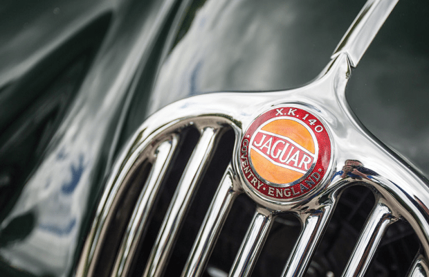 This Classic Jag Couldn't Be Cooler