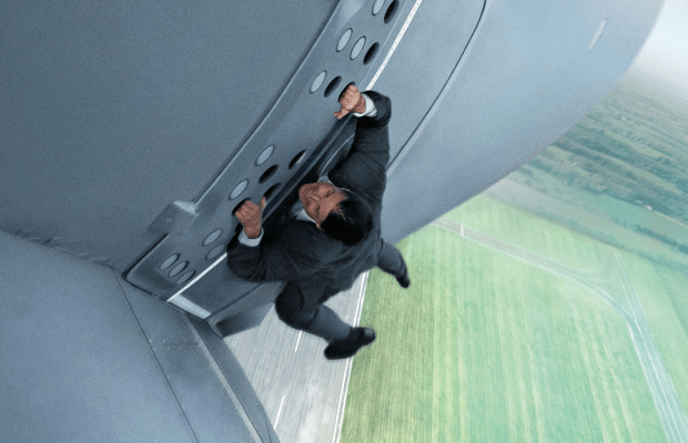 Here's How Tom Cruise Did The Insane Plane Stunt For 'Mission: Impossible - Rogue Nation'