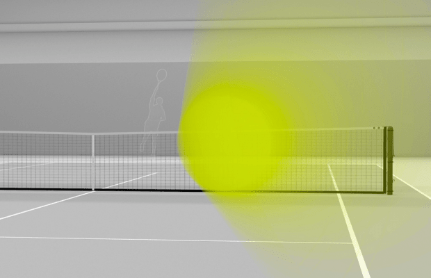 What It's Like To Face A 150 M.P.H. Tennis Serve