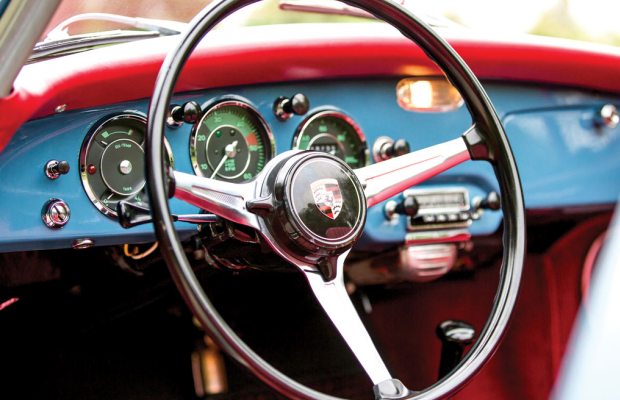 19 Gorgeous Photos Of A 1961 Porsche 356 B 1600 Cabriolet