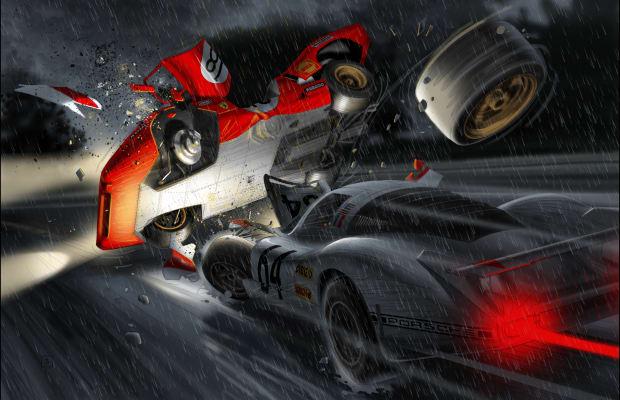 Steve McQueen Returns In Beautiful Graphic Novel Based on 'Le Mans' Film