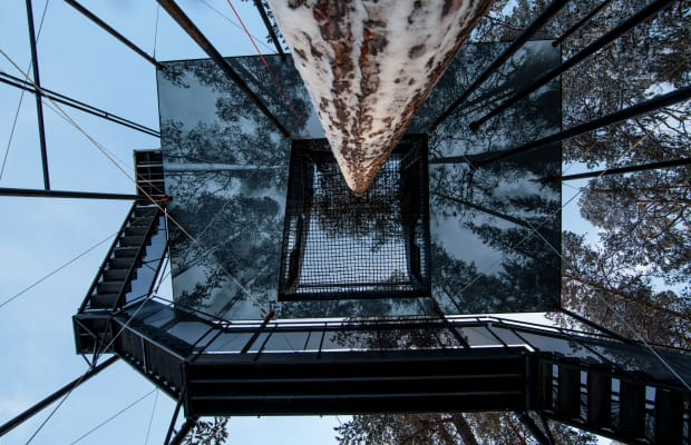 The World's Most Luxurious Treehouse