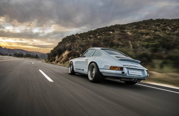 This Customized Ice Blue Porsche Is Simply Incredible