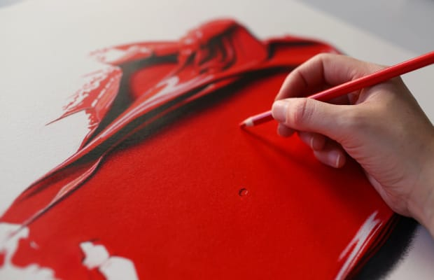 CJ Henry and Christian Louboutin Collaborate on Breathtaking, Hyper-Realistic Art Series