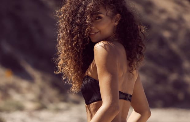 A Day at the Beach With the Insanely Gorgeous Ashley Moore